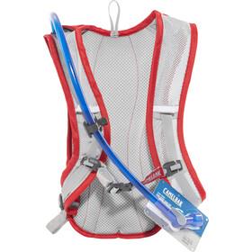 CamelBak HydroBak Harnais d'hydratation 1,5L, racing red/silver